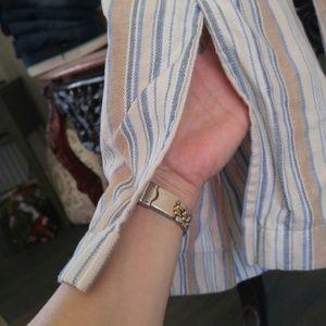 Express Pants - Express Linen/Cotton drawstring wide leg pants